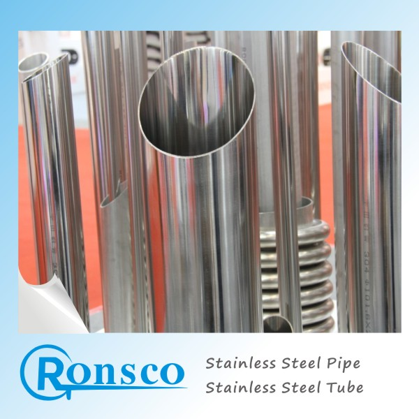 304 Welded Sanitary Sharp Handrails Double Wall Price Philippines Pipes Stainless Steel Pipe