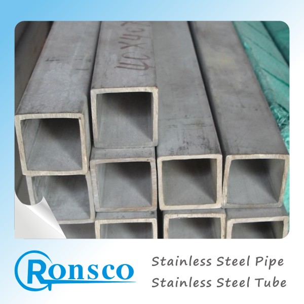 6mm 9mm 15mm 32mm 38mm Square Rectangular Pipe Stainless Steel Tube